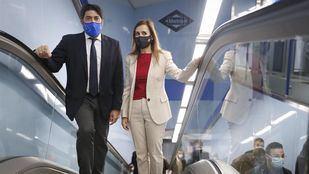 La estación de Metro de Tribunal ya es 'plenamente accesible' con siete nuevos ascensores