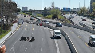 Los cortes al tráfico del Nudo Norte se revertirán en agosto