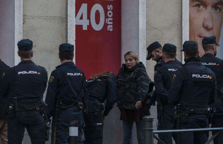 La líder de Hogar Social, a juicio por irrumpir en la sede del PSOE en enero de 2020