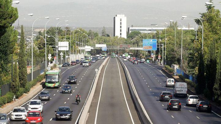 Las carreteras de Madrid registraron este jueves un 16% más salidas que el anterior