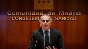 Enrique Ruiz Escudero, consejero de Sanidad de la Comunidad de Madrid en una imagen de archivo