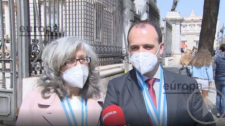 La Almudena adapta el Domingo de Ramos a la pandemia