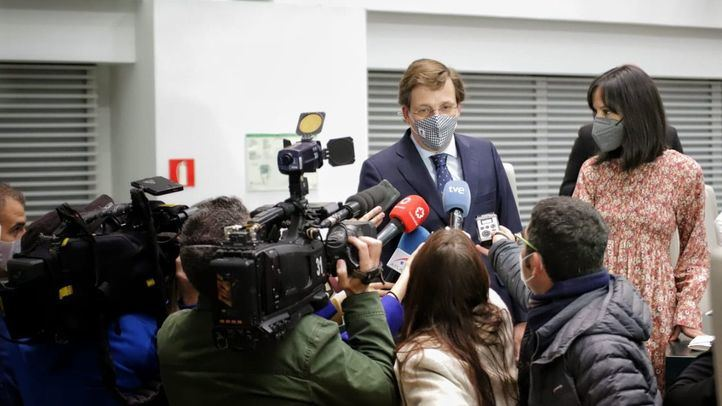Despedida de Almeida y Villacís a Mercedes González, nueva delegada del Gobierno en Madrid.
