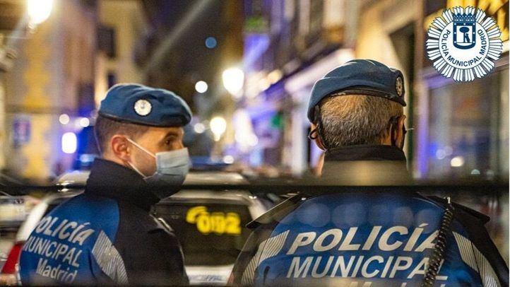 Detenidos tres hombres por violencia de género en Centro y Vallecas