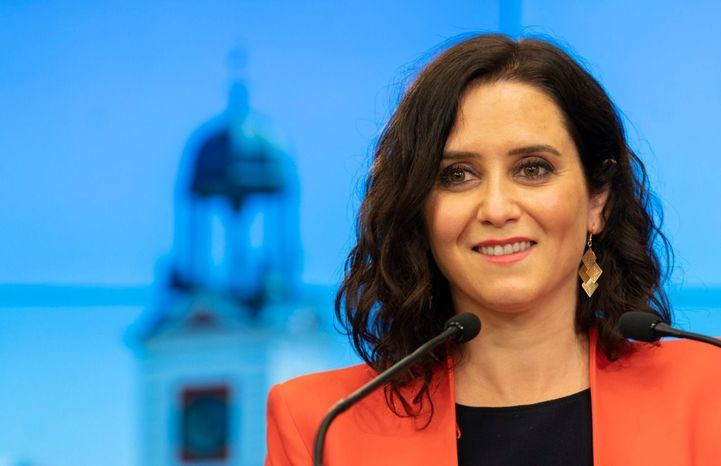 Isabel Díaz Ayuso, candidata popular a la reelección