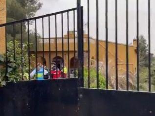 Muere un hombre en un incendio en un chalé de Colmenar de Oreja