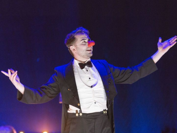 'The clown' es Alberto Frías