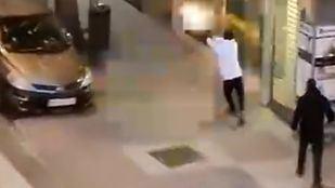 Captura del vídeo difundido en redes