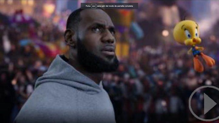 LeBron James protagoniza la nueva secuela de 'Space Jam'