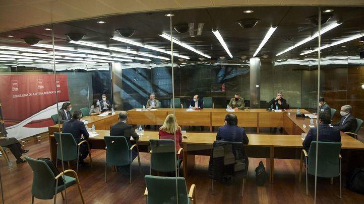 Reunión del Plan Territorial de Protección Civil de la Comunidad de Madrid (PLATERCAM)