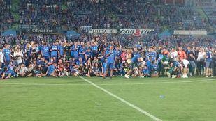 El Getafe CF sube a 1ª división