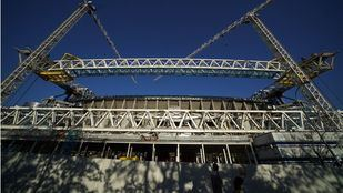 Cubierta del Estadio Santiago Bernabéu