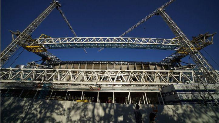 Las obras del Bernabéu comienzan a mostrar la nueva cara del templo madridista