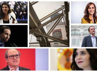 Candidatos a la Presidencia de la Comunidad de Madrid