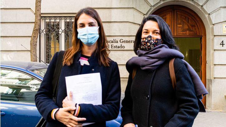 Rita Maestre y Pilar Sánchez en una foto de archivo.