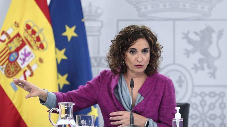 Mª Jesús Montero, portavoz del Gobierno y ministra de Hacienda