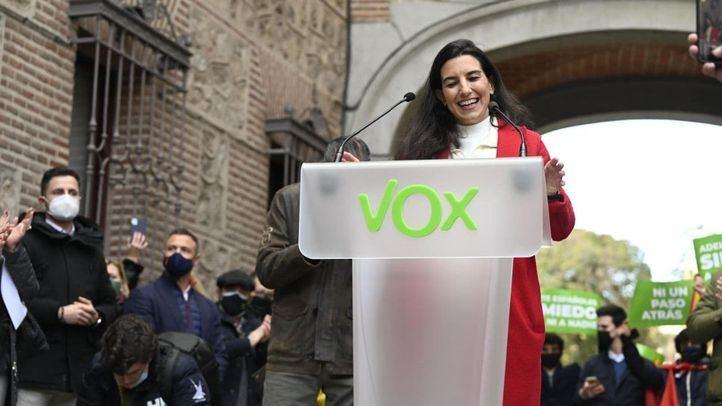 Vox reclama a Junta Electoral y Delegación que protejan su acto en Vallecas