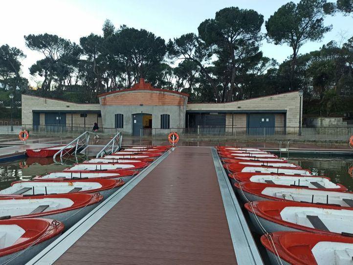 Más Madrid pide que vuelva el embarcadero de la Casa de Campo tras más de un año cerrado