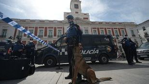 Imagen de archivo de un policía municipal en Sol
