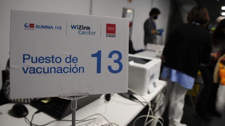 El WiZink arranca su andadura como centro de vacunación