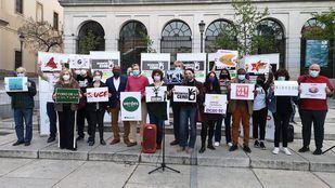 Presentación de la candidatura de la coalición Recortes Cero - Partido Castellano - Tierra Comunera - Grupo Verde - Municipalistas