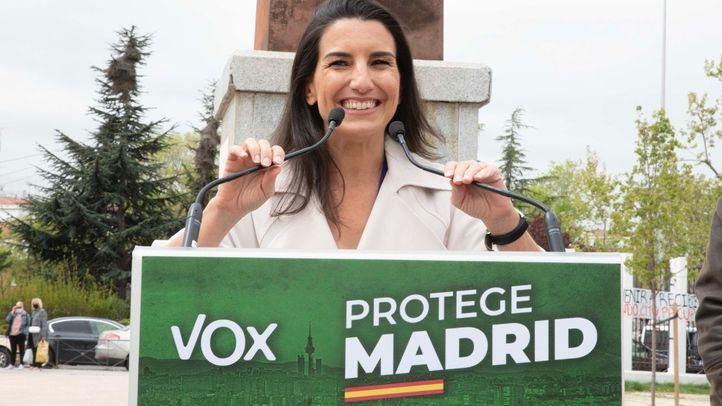 Monasterio asegura que Vox va a ganar 'con ideas y principios' frente a los que les quieren 'arrinconar'