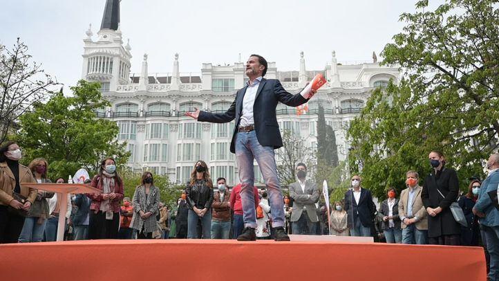 Bal se reivindica como candidato de 'concordia' frente a Iglesias: 'Vallecas y Salamanca, no Vallecas o Salamanca'