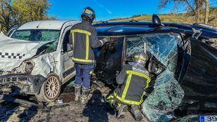 Tres personas han resultado heridas en un accidente en Loeches