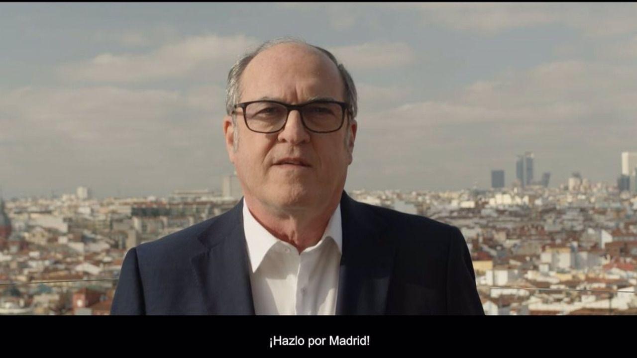Gabilondo presenta su lema de campaña: 'Hazlo por Madrid'