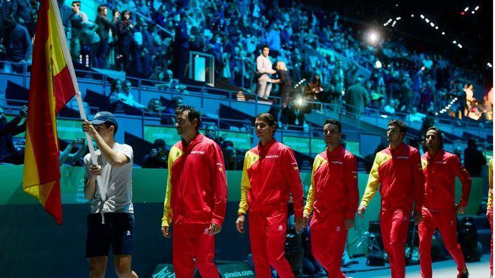 Último equipo de la Copa Davis en España en 2019