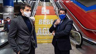 Metro de Madrid se une a Iker Casillas para fomentar hábitos saludables