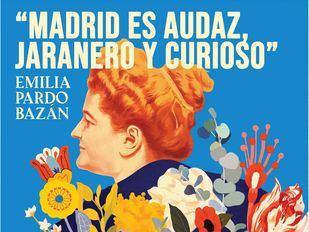 Emilia Pardo Bazán, la primera mujer cronista de Madrid, toma las calles en el centenario de su muerte