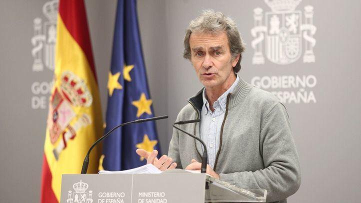 A Simón no le constan datos falsos en Madrid y ve una letalidad