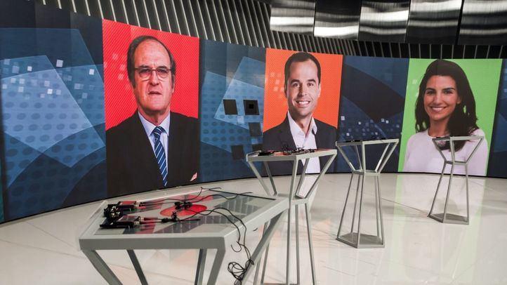 Todos los candidatos salvo Ayuso confirman su asistencia al debate en Telemadrid