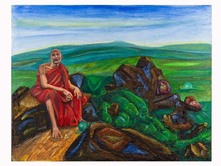 El budismo, a través de la mirada de Joaquín Sanz