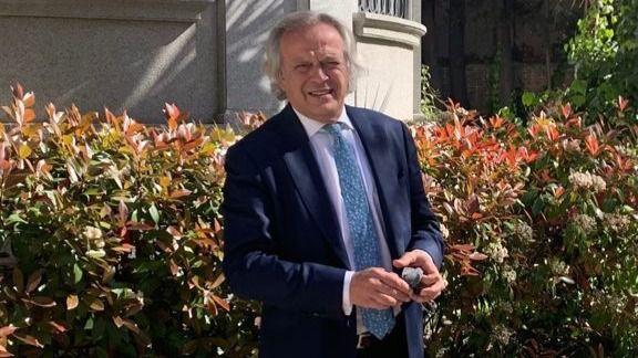 Hilario Alfaro, presidente de Madrid Foro Empresarial