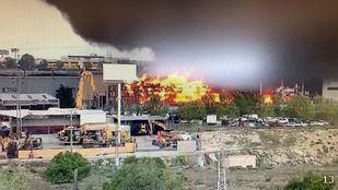 Controlado el incendio de Seseña, que será extinguido por completo en los próximos días