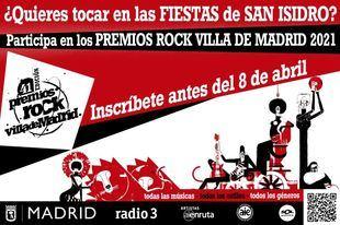Récord de participación en los Premios Rock Villa de Madrid