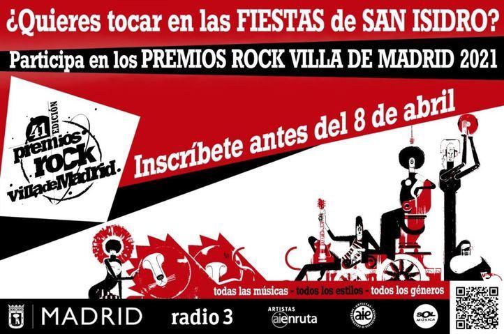 Récord de participación en los Premios Rock Villa de Madrid con más de 600 inscritos