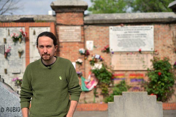 Unidas Podemos celebra un Acto por la memoria en el cementerio de la Almudena de Madrid el 14 de abril