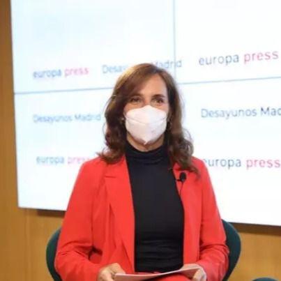 Mónica García en los Desayunos Informativos de Europa Press