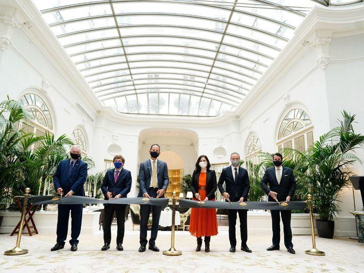 El hotel Ritz de Madrid vuelve a abrir sus puertas