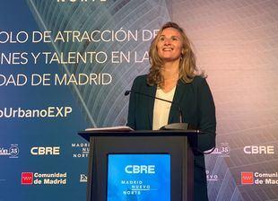 Paloma Martín, consejera de Medio Ambiente de la Comunidad de Madrid