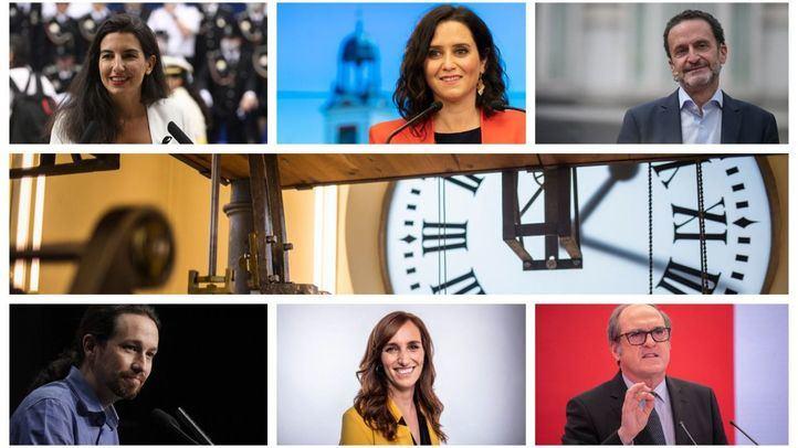 Hortaleza, Goya, Ópera, Lavapiés, Vallecas y Móstoles, puntos de arranque de la campaña electoral