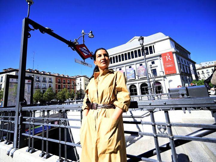 Entrevista a la candidata de  Vox a la presidencia de la Comunidad de Madrid