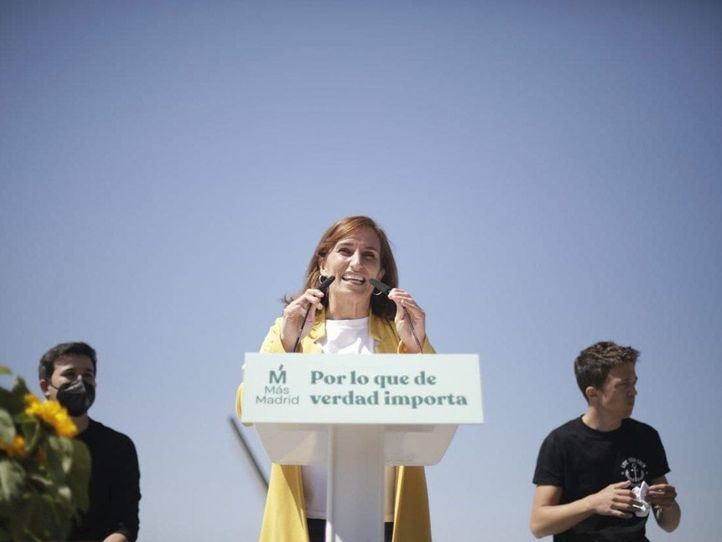 Más Madrid arranca la campaña llamando a 'coger la papeleta de la doctora'