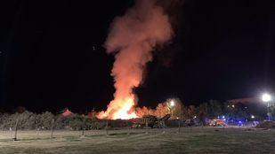 Incendio en Villaviciosa de Odón