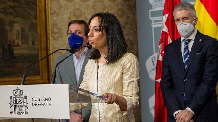 Intervención de la nueva delegada del Gobierno en Madrid, Mercedes González Fernández, en el acto de su toma de posesión