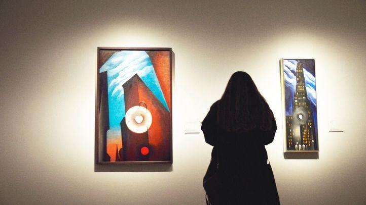 El Museo Thyssen reivindica la figura de Georgia O'Keeffe más allá de sus flores