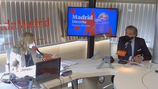 Ángel Asensio con Nieves Herrero en Madrid Directo